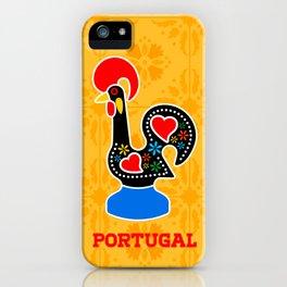 Barcelos Rooster (Galo de Barcelos) iPhone Case