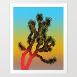 Summer Joshua Tree Art Print