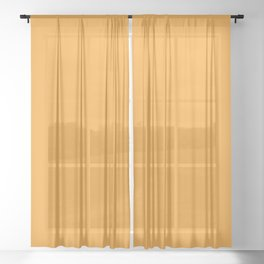 Halloween Party / Light Orange (Mix & Match Set) Sheer Curtain