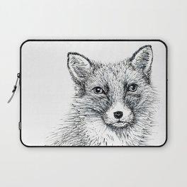 Fox staring Laptop Sleeve
