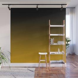 Golden Ombre Wall Mural