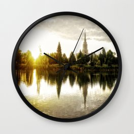 Idaho Falls Temple - Sunrise Wall Clock