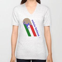 Calcio Italiano Unisex V-Neck