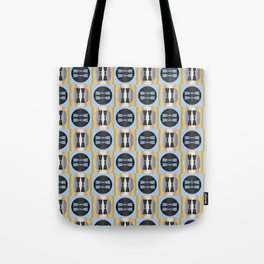Traditional Japanese pattern KINE Tote Bag