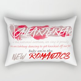 Heartbreak Is The National Anthem Rectangular Pillow