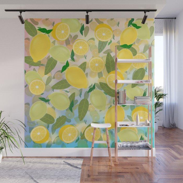 Lemon Song Wall Mural