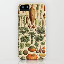 legume et plante potageres iPhone Case