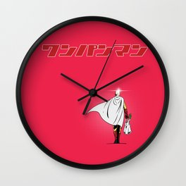 One Punch Man Grocery Wall Clock