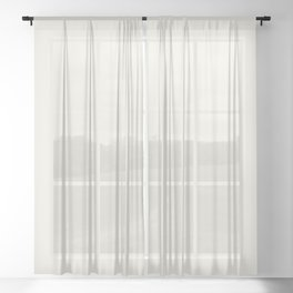 Parable to Valspar America Dove White 7002-7 Solid Color Sheer Curtain