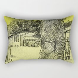 Gambian Light Rectangular Pillow