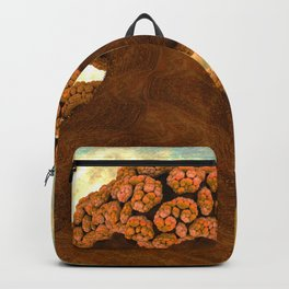 Broccoli Planet in Fall Backpack