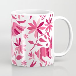 Mexican Otomi Design in Pink Coffee Mug