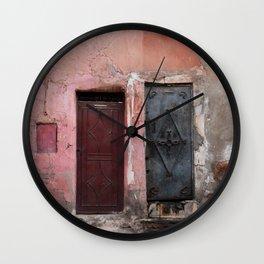 The Old Doors (Marrakech) Wall Clock