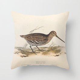 GREAT SNIPE (2) Throw Pillow