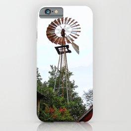 Windmill, Texas iPhone Case
