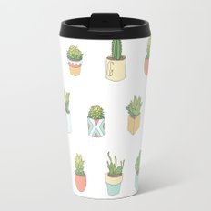 Cute Succulents Travel Mug