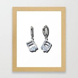 Favorite earrings Framed Art Print