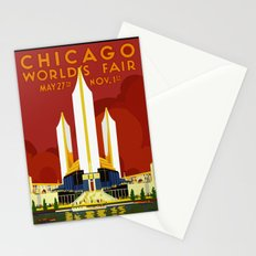1933 Chicago World's Fair Stationery Cards