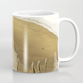 Abstract Lines In The Sand Coffee Mug
