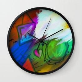 Abstract Mess Wall Clock