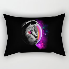 Astronouts Cat Rectangular Pillow