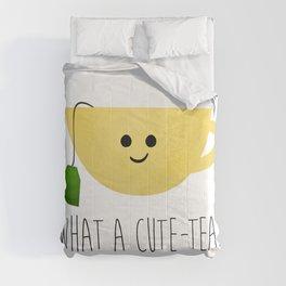 What A Cute-tea Comforters