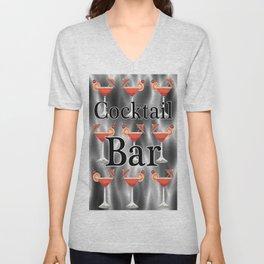 Cocktails Unisex V-Neck
