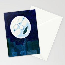 Slumbering Moon Stationery Cards