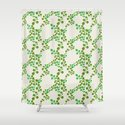 Retro leaves-olive by patternpenny