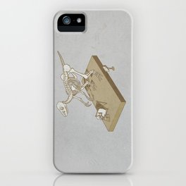 Jurasic renaissance. iPhone Case
