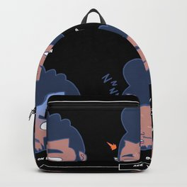 AYD Faces #1 BLK Backpack
