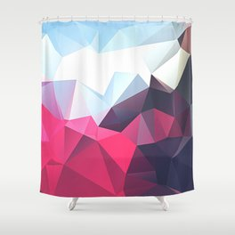 Polygonal Shower Curtain