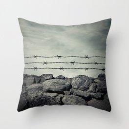 prison Throw Pillow