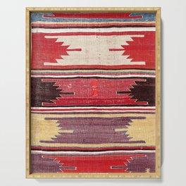 Nevsehir Cappadocian Central Anatolian Kilim Print Serving Tray