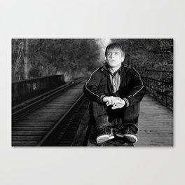 Alright Let's Go  Canvas Print