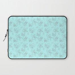 Blue Butterfly Wing Medley Laptop Sleeve