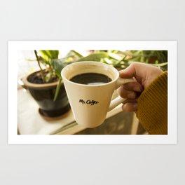 Afternoon Coffee Art Print