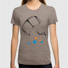 Kitesurfing, t-shirt for kiter T-shirt