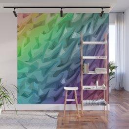 Rainbow Mermaid Skin Wall Mural