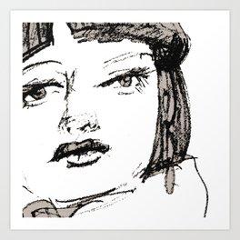Portrait 113 Art Print