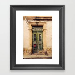 Nicosia Doorway Framed Art Print