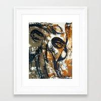 """pilot Framed Art Prints featuring """"Pilot"""" by Scott Lenaway"""