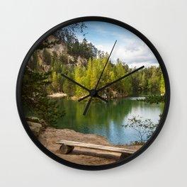 Adršpach-Teplice Rocks Wall Clock
