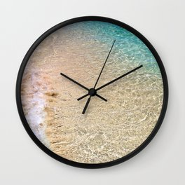 Caribbean Blue Wall Clock