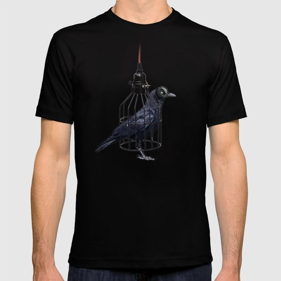bird in the wire T-shirt