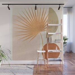 Tropical Leaf- Abstract Art 49a Wall Mural