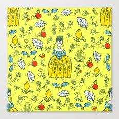 Queen of the Garden Canvas Print