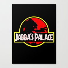 Jabba's Jurassic Palace Canvas Print
