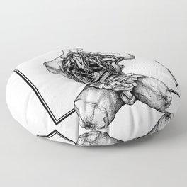 Blossom Surgery : Torso. Floor Pillow