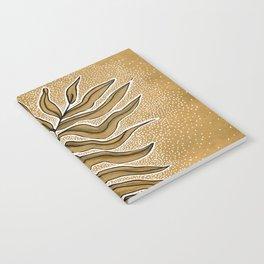 Meditation Leaf Notebook